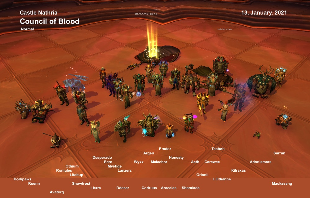 Council of Blood Kill shot