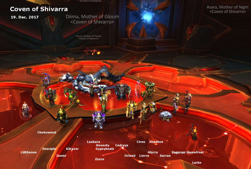 Coven of Shivara kill shot