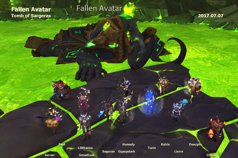 Fallen Avatar kill photo