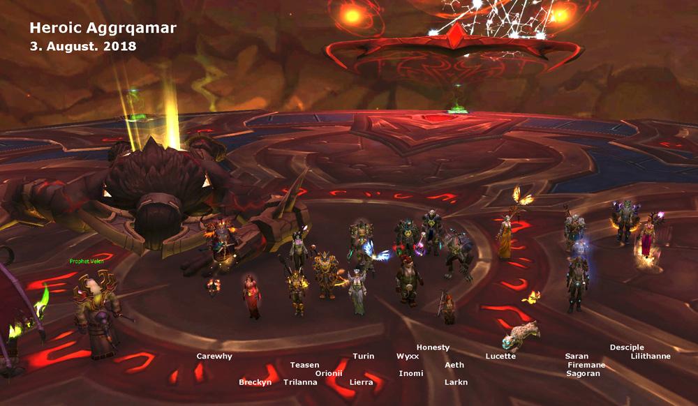 Heroic Aggramar kill shot