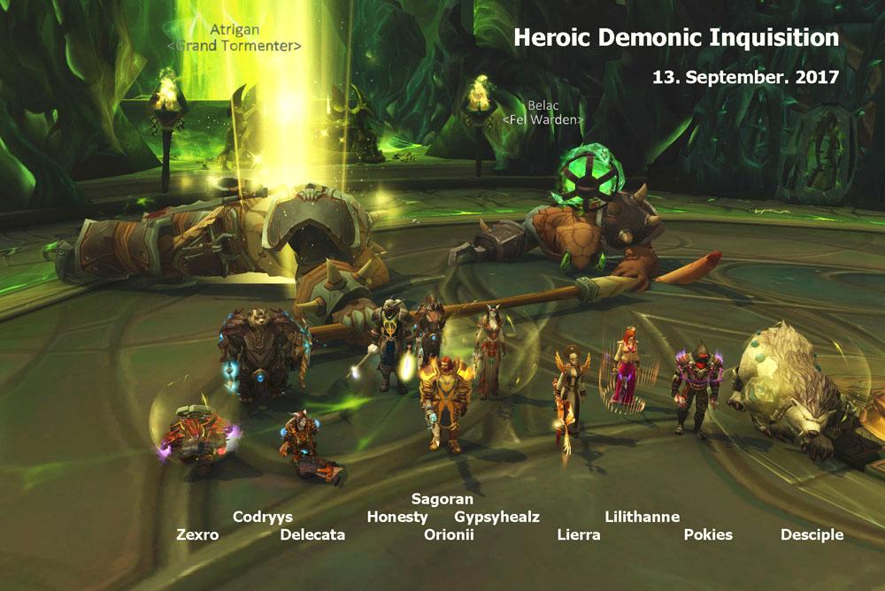 Heroic Demonic Inquisition kill photo