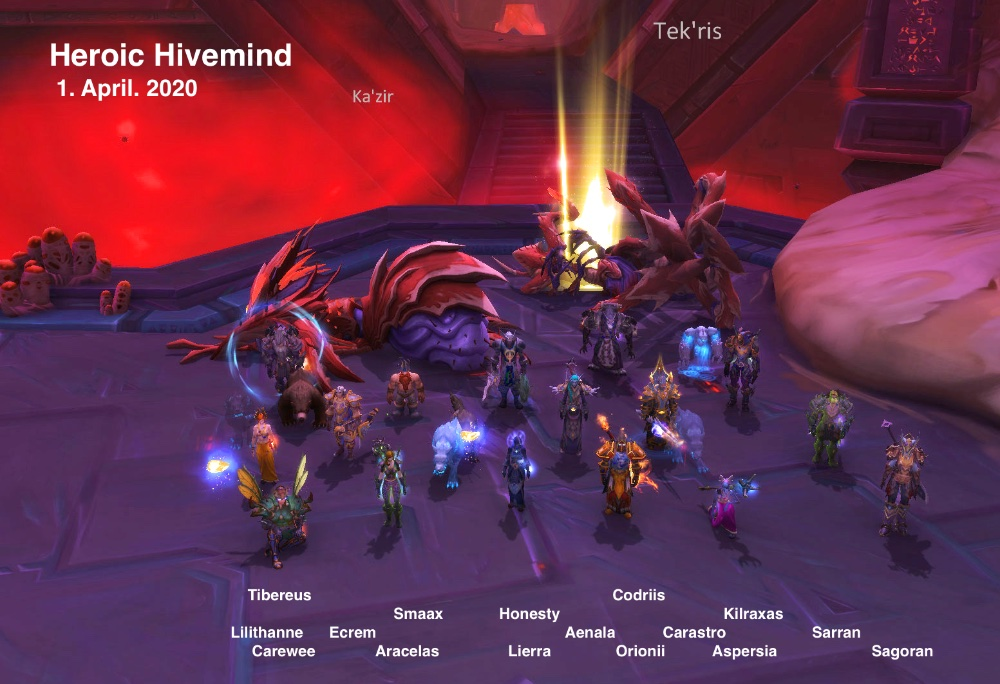 Heroic Hivemind kill shot