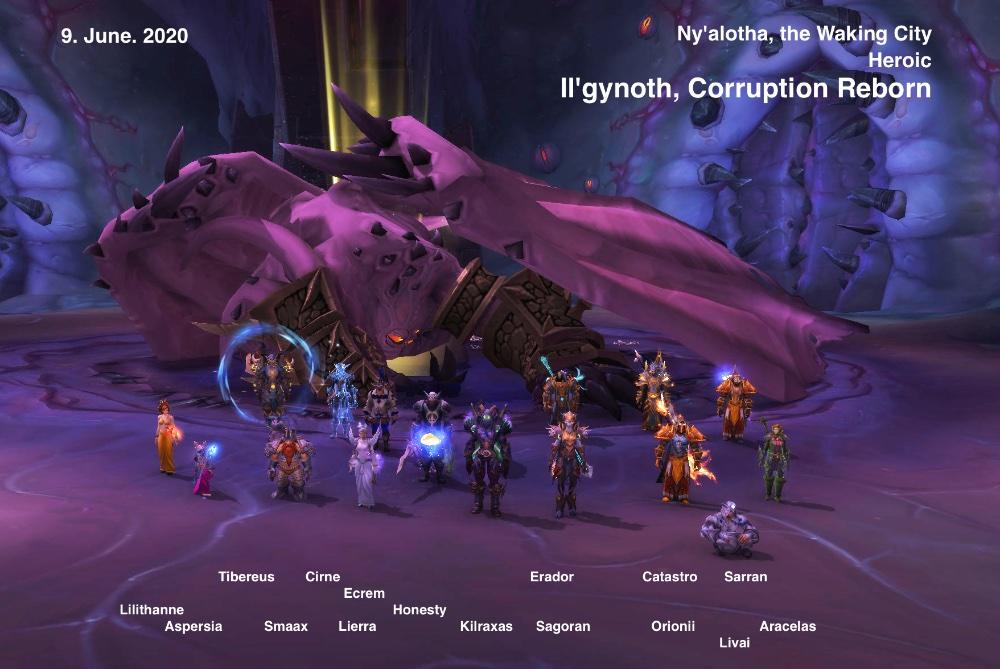 Heroic Il'gynoth kill shot