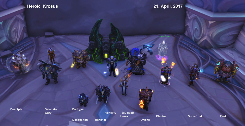 Heroic Krosus kill picture