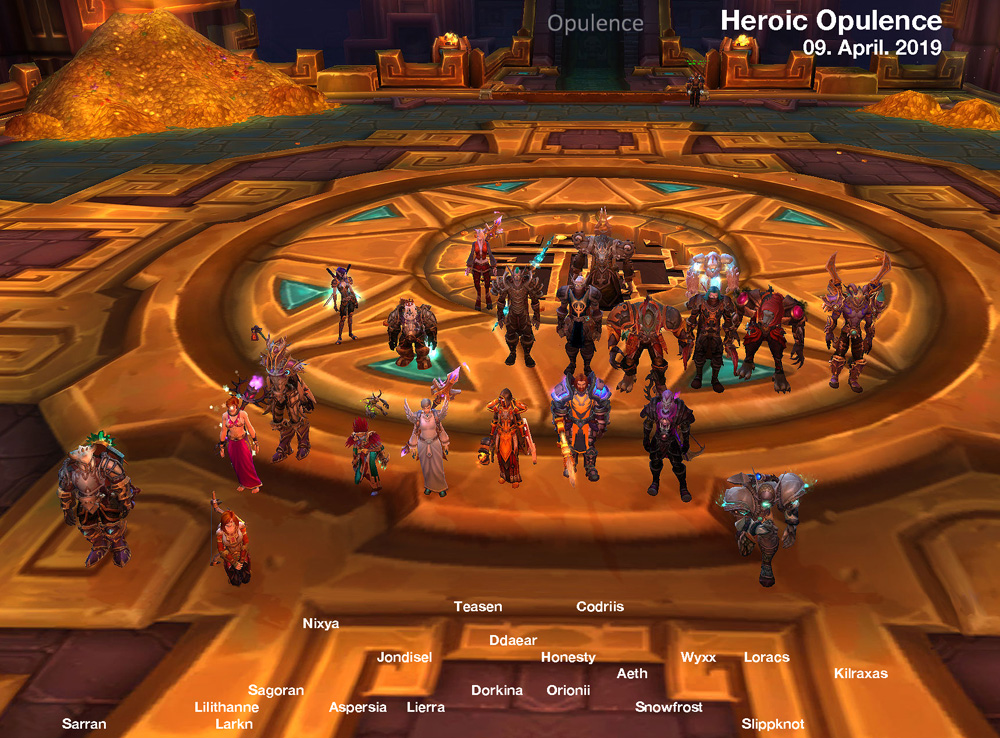 Heroic Opulence Kill shot