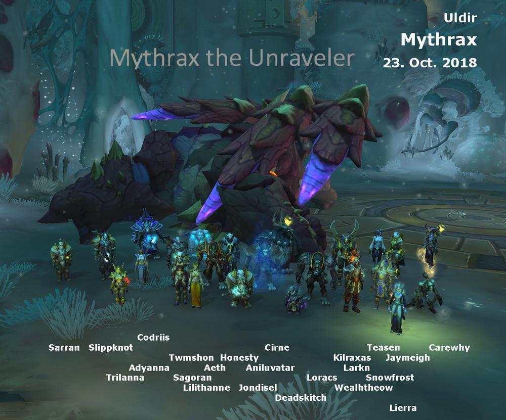 Mythrax kill shot