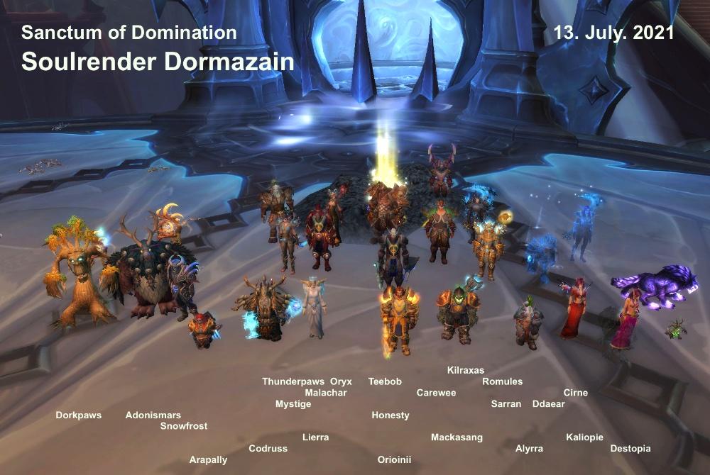 Soulrender Dormazain kill shot