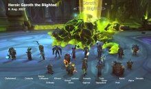 Heroic Goroth kill picture